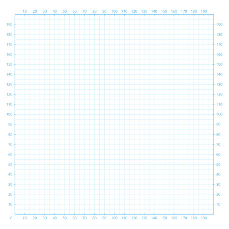 millimeter: Real size millimeter engineering paper