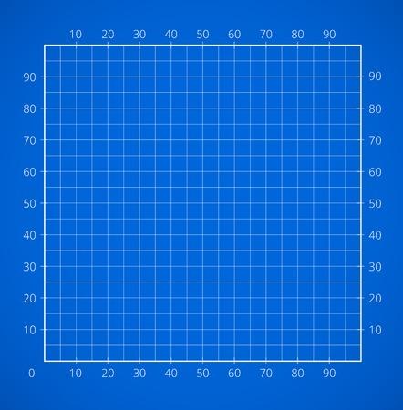 squared paper: Blueprint squared paper sheet