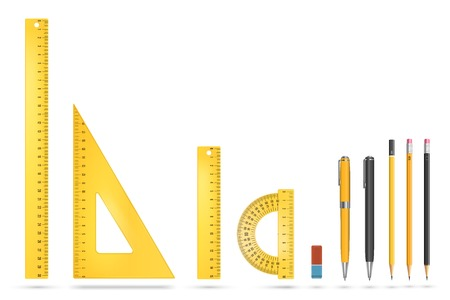 drafting tools: Ruler instruments
