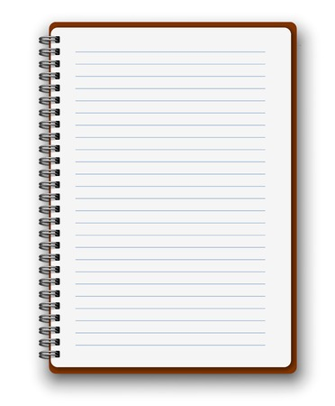 spiral notebook: Vertical notebook