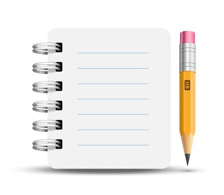 ring binder: Paper spiral notebooks