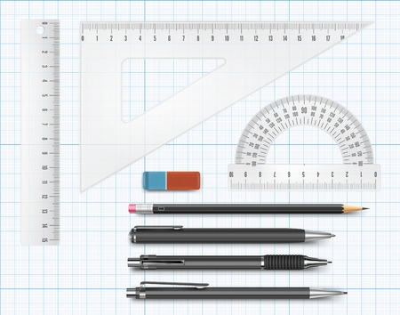 millimetre: Education supply illustration