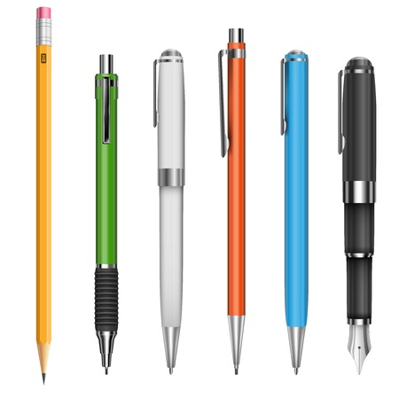 ball pens stationery: Bol�grafos y l�pices