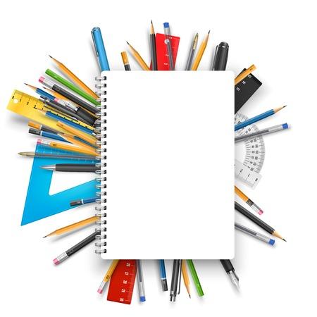 lapiz y papel: Bloc de notas y bol�grafos