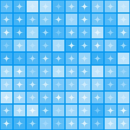 Abstract star shape mosaic background Vector