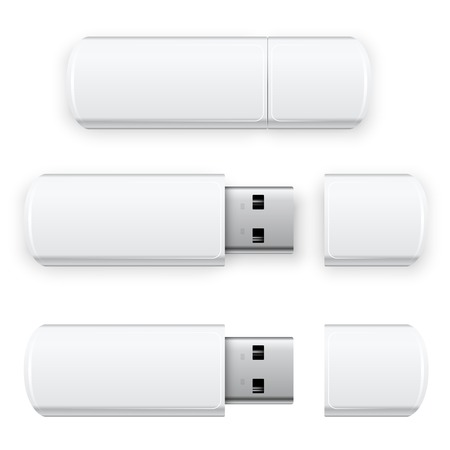 flash drive: Vector USB Flash