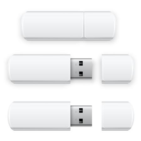 Vektor-USB-Flash- Standard-Bild - 30741253