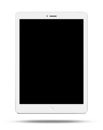 blank tablet: Tablet Illustration