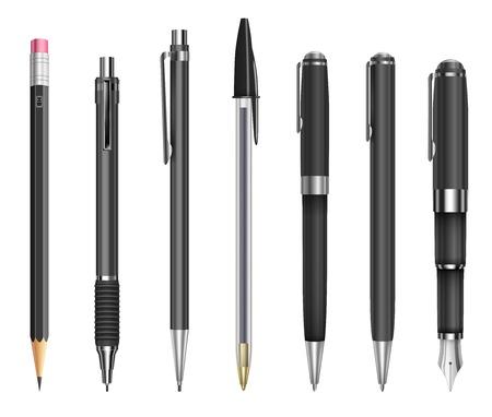 ペンや鉛筆  イラスト・ベクター素材