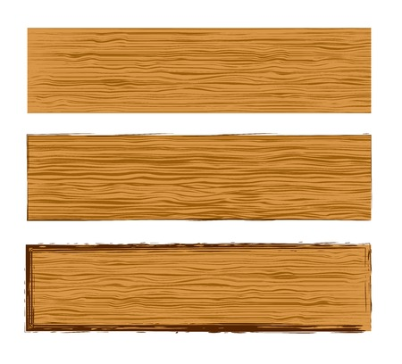wood planks: Vector wood planks