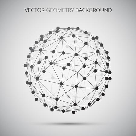 Sphere molecula Vettoriali