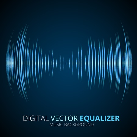 Schallwellen Vektorgrafik