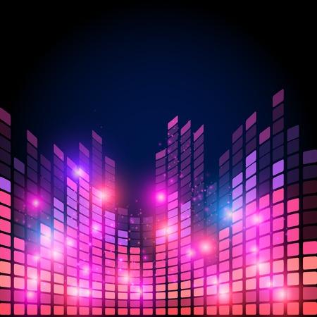 sound wave: music equalizer