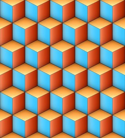 Infinity Cubes Vector