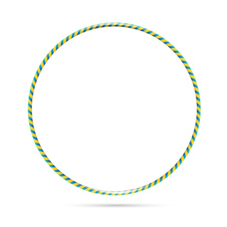 Hula hoop Illustration