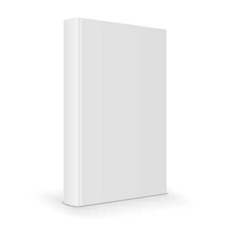 Blank book Stock Vector - 32170874