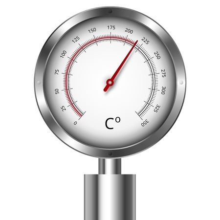 pressure gauge: Temperature meter gauge