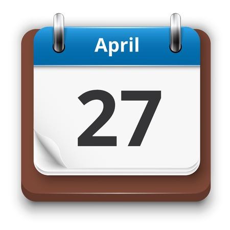 time bound: Blue calendar