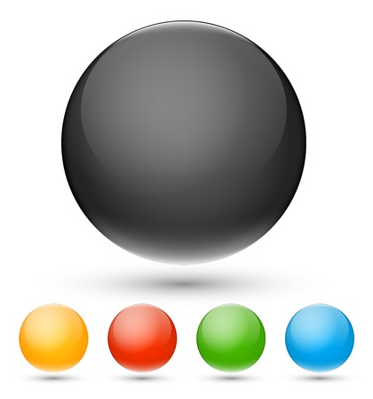 colors balls Vector
