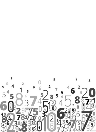 mathematical: Numbers background