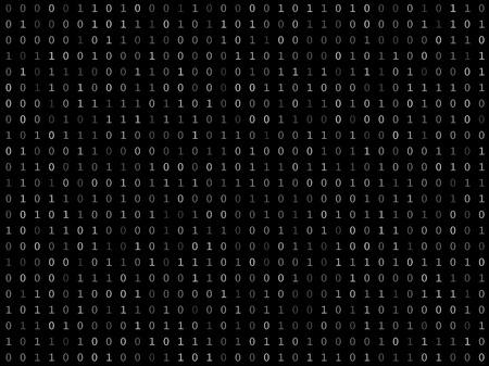 cryptogram: Blink binary code screen black