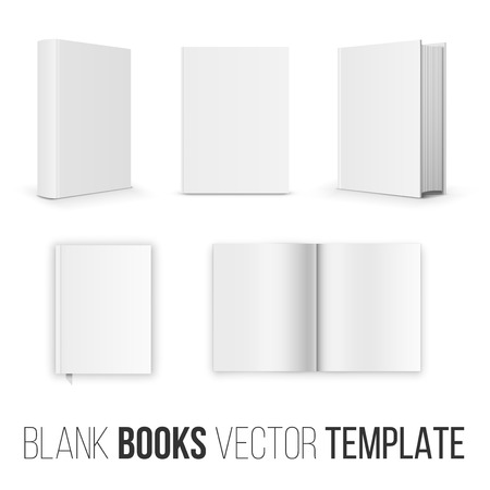 blank book cover: Book set