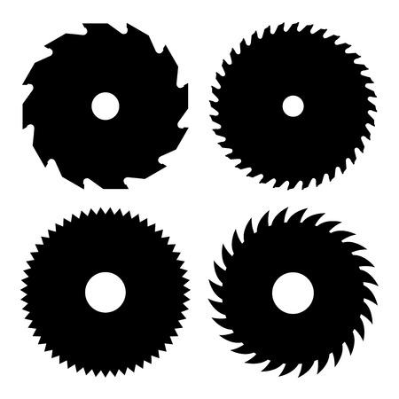 Circulaire zagen Stock Illustratie