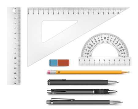 Education supply illustration