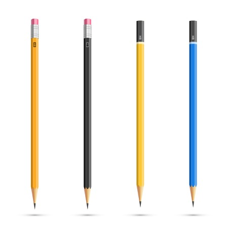 Pencils set Stock Vector - 35931857