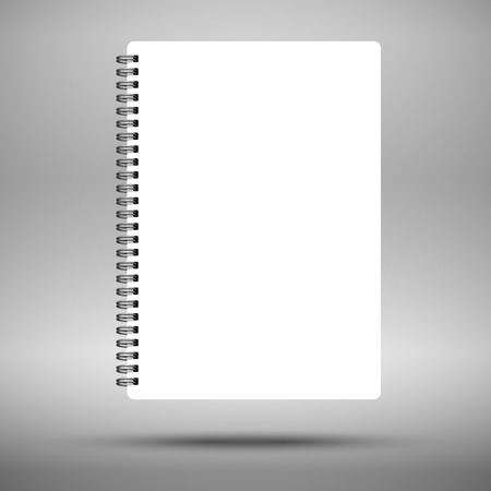 Notebook Stock Illustratie