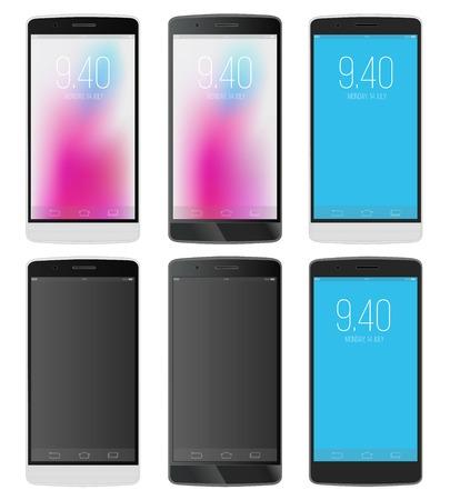 touchphone: Smartphones Illustration