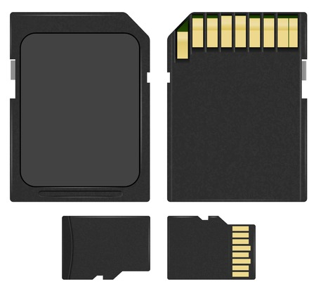 micro drive: SD and microSD