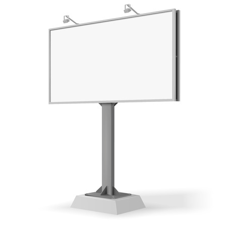 blank signs: Billboard front