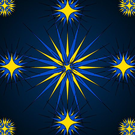 estrella azul: Modelo de estrella azul