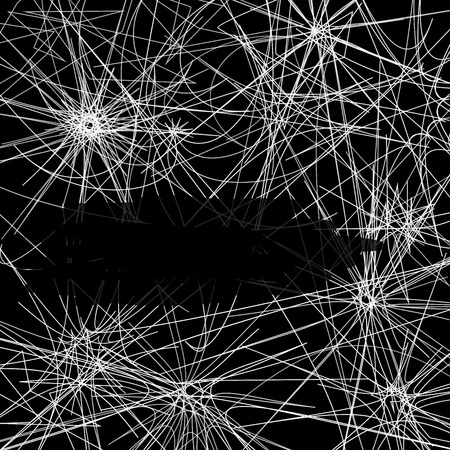 cobwebby: Web pattern  Illustration