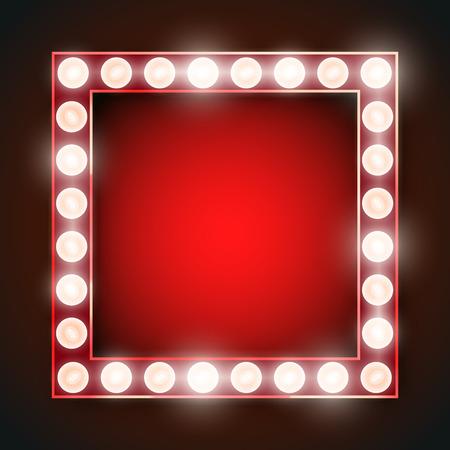 splendid: Frame lamp Illustration
