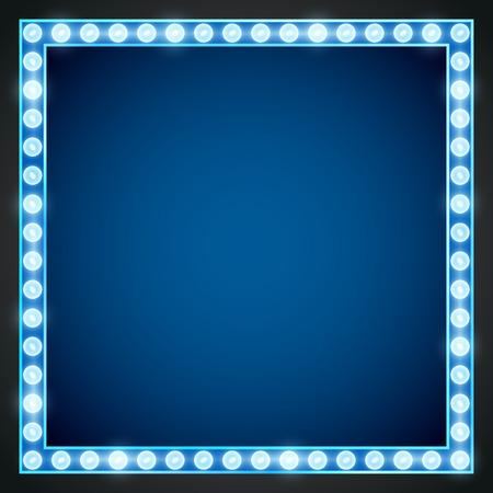 Frame lamp  イラスト・ベクター素材