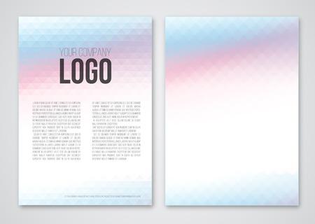 a4: print template Illustration