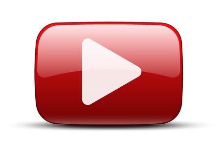 ビデオのアイコン  イラスト・ベクター素材