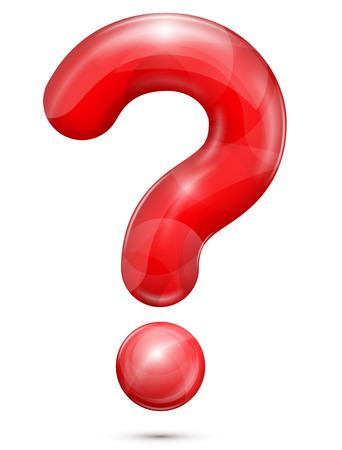 signo pregunta: signo de interrogación Vectores