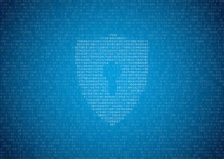 codigo binario: Datos