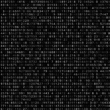 Binary code Illustration