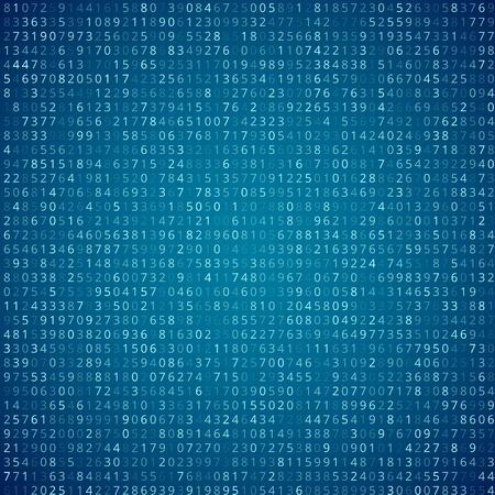 cypher: Binary code Illustration
