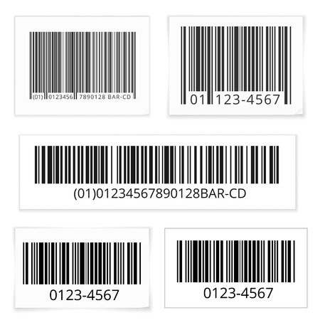 scanned: Bar code