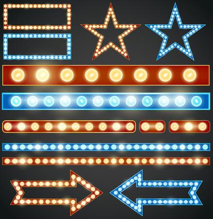 bombillo: Estrellas