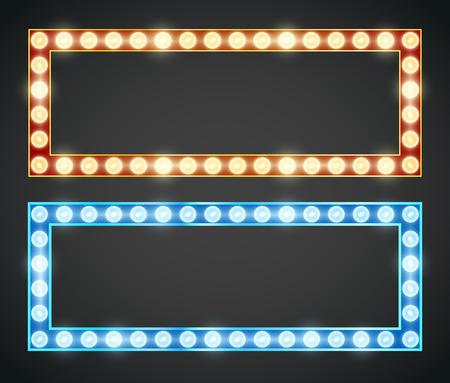 vistiendose: Lámpara Frame Vectores