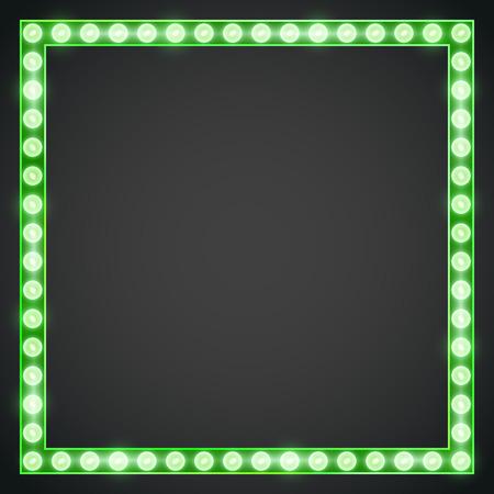 Frame lamp Illustration