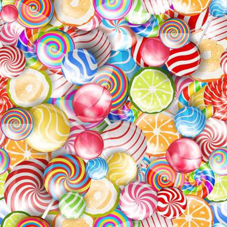 colorful candy Illustration