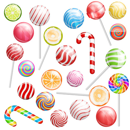 lollipops: lollipops Vectores
