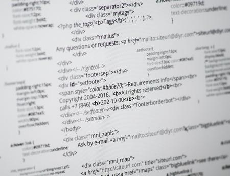 programer: Html